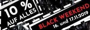 Nur dieses Wochenende: 10 % Rabatt auf das gesamte Sortiment. Nutzen Sie die Gelegenheit des Jahres und sparen Sie beim mySpirits BLACK WEEKEND!