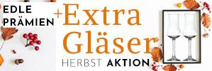Nur bis Montag: Extra Gläser pro 100€ Bestellwert gratis - machen Sie jetzt Ihre Hausbar winterfest und sichern Sie sich die Schnapskelche.