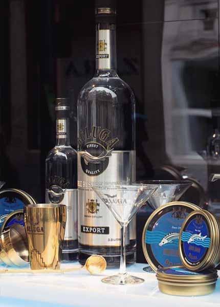 Beluga Noble Russian Vodka 3L Magnumflasche