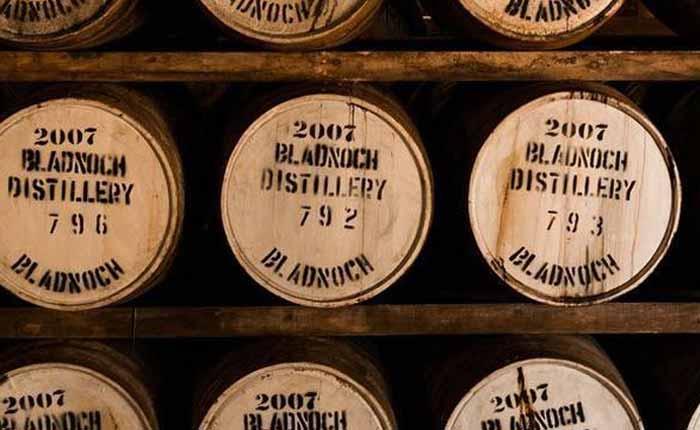 Hier reift der Bladnoch Whisky für mehrere Jahre