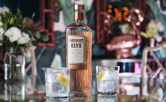 Absolut Elyx Vodka probieren