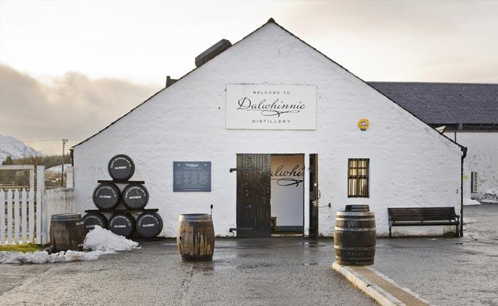 Die Dalwhinnie Distillerie