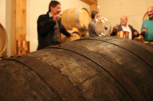 Andrea Marzadro, der Brennmeister der Distilleria Marzadro