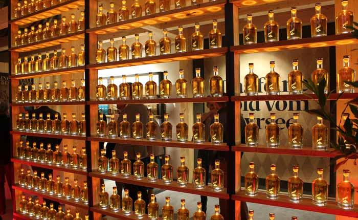 Slyrs Whisky das Gold vom Schliersee