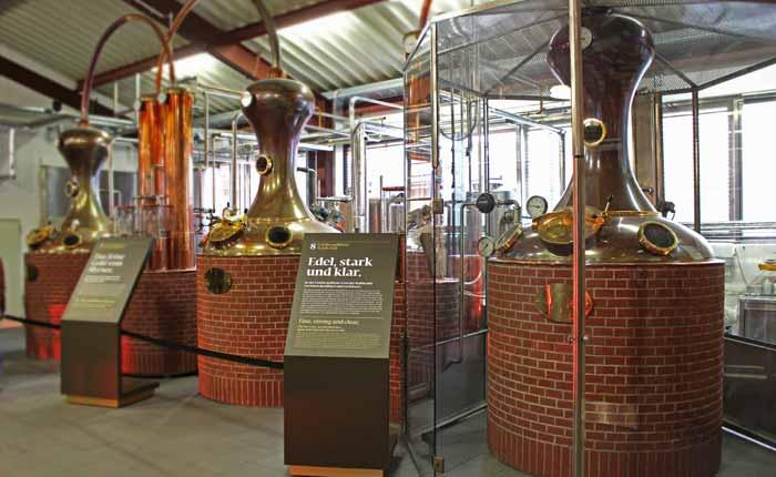 So wird Whisky bei Slyrs hergestellt