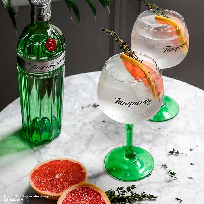 Tanqueray Gin eignet sich prima für jede Gelegenheit