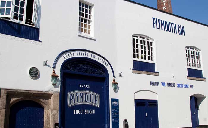 Plymouth Gin Destillerie