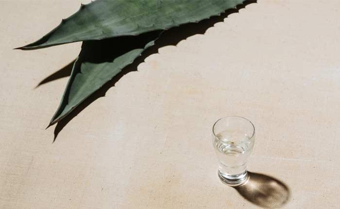 Weißer Tequila