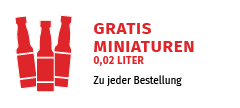 Probieren Sie mal was Neues: Gratis Miniaturen zu jeder Bestellung!