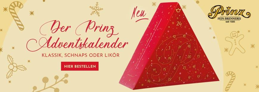 Der neue Prinz Adventskalender 2019: Jetzt ganz nach Ihrem Geschmack konfektioniert. Wie immer limitierte Auflage - sofort zugreifen und Adventskalender sichern!