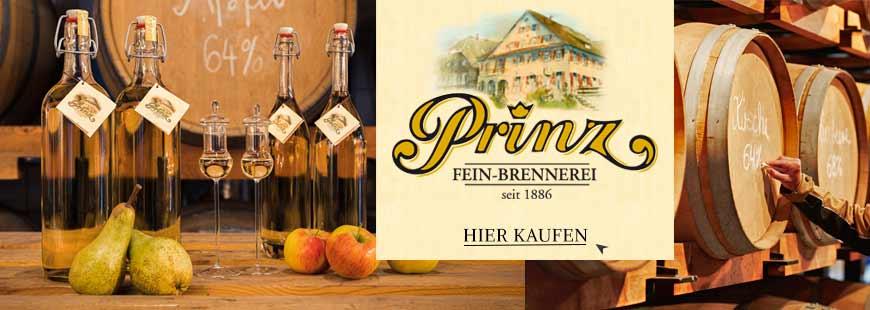 Das Original von Prinz: Die Alten Sorten aus dem Holzfass sind unverwechselbar fruchtig und mild - sichern Sie sich jetzt die Prinzen unter den Schnäpsen!