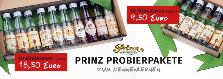 Verschiedene Prinz Probierpakete bei myspirits kaufen