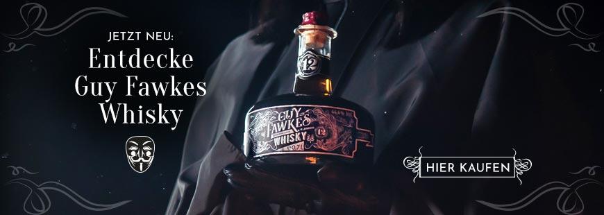 Guy Fawkes Whisky - Jetzt zugreifen!