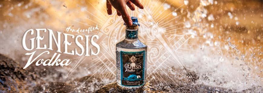 Probiere jetzt Genesis Vodka! - Der einzigartige Premium-Vodka mit innovativer Erdfilterung